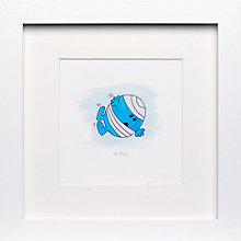 Buy Roger Hargreaves- Mr. Men, Mr. Bump Framed Print, 23.5 x 23.5cm Online at johnlewis.com