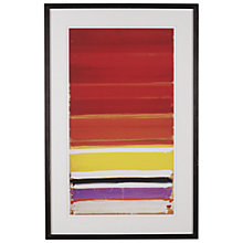 Buy Tate, Patrick Heron- Horizontal Stripe Painting Framed Print, 101 x 66cm Online at johnlewis.com
