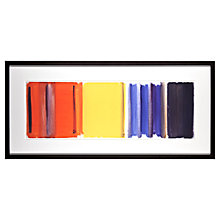 Buy Tate, Patrick Heron- Scarlet, Lemon Ultremarine Framed Print, 48 x 101cm Online at johnlewis.com