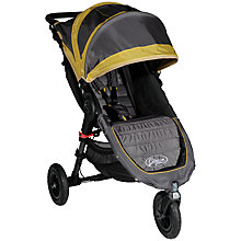 Buy Baby Jogger City Mini GT Pushchair, Shadow/Bamboo Online at johnlewis.com