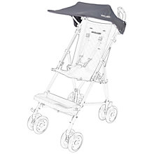 Buy Maclaren Major Elite Sunshade, Charcoal Online at johnlewis.com