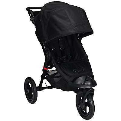 Baby Jogger City Elite Pushchair, Black/Black