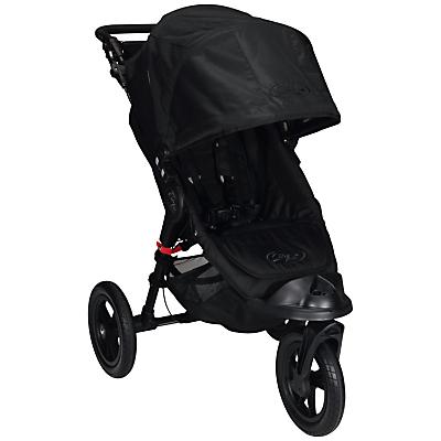 Baby Jogger City Elite Pushchair, Black/Black