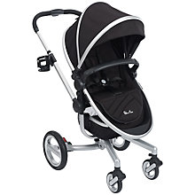 Buy Silver Cross Surf Pushchair, Black Online at johnlewis.com