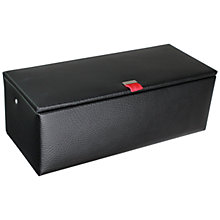 Buy Dulwich Designs Zurich Combination Box, Black/Red Online at johnlewis.com