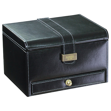 Buy Dulwich Designs Heritage 3 Piece Watch Box, Black Online at johnlewis.com