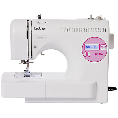 Buy Brother DS120 Sewing Machine Online at johnlewis.com