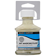 Buy Daler-Rowney Simply Art Masking Fluid, 75ml Online at johnlewis.com