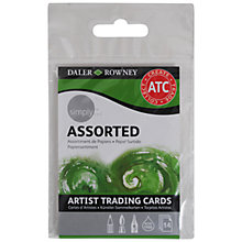 Buy Daler-Rowney Simply Artist Trading Cards, Assorted Online at johnlewis.com