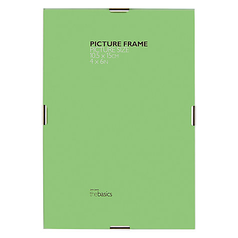 "Buy John Lewis The Basics Clip Frame, 4 x 6"" (10 x 15cm) Online at johnlewis.com"