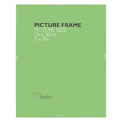 Buy House by John Lewis Clip Frame Online at johnlewis.com
