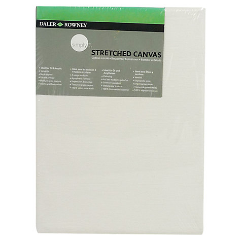 Buy Daler-Rowney Stretched Canvas, 18 x 13cm Online at johnlewis.com