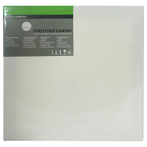 Buy Daler-Rowney Stretched Canvas, 40 x 40cm Online at johnlewis.com