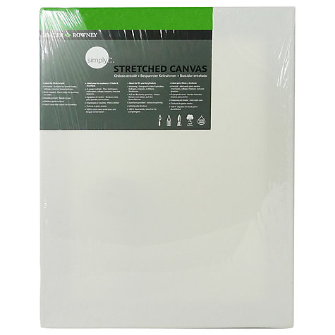 Buy Daler-Rowney Stretched Canvas, 40 x 30cm Online at johnlewis.com