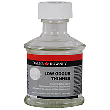 Buy Daler-Rowney Simply Low Odour Thinner, 75ml Online at johnlewis.com