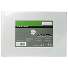 Buy Daler-Rowney Canvas Panel, 30 x 24cm Online at johnlewis.com