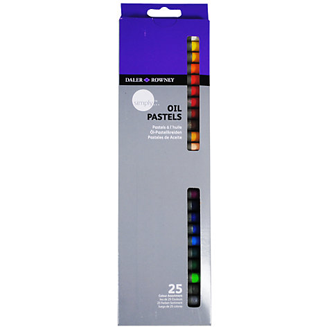Buy Daler-Rowney Simply Oil Pastels, Pack of 25 Online at johnlewis.com
