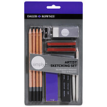 Buy Daler-Rowney Simply Pencil Set Online at johnlewis.com