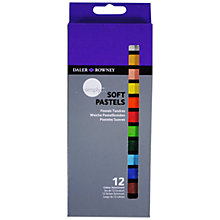 Buy Daler-Rowney Simply Soft Pastels, Pack of 12 Online at johnlewis.com