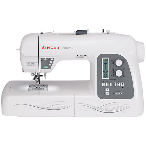 Buy Singer Futura XL 550 Sewing Machine Online at johnlewis.com