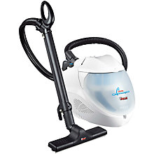 Buy Polti Lecoaspira Friendly Steam Vacuum Cleaner, White and FREE Lux Steam Gun Online at johnlewis.com