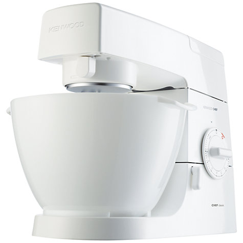 Buy Kenwood KM330 Chef Classic Stand Mixer, White Online at johnlewis.com