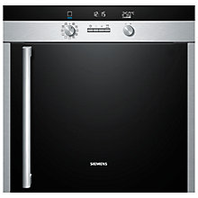 Buy Siemens HB75RB551B Single Electric Oven, Stainless Steel Online at johnlewis.com