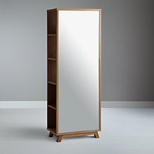 Buy Bethan Gray for John Lewis Noah Mirrored Storage Unit, Oak Online at johnlewis.com