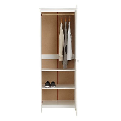 Buy little home at John Lewis Devon Single Wardrobe Online at johnlewis.com