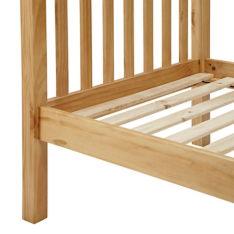 Buy little home at John Lewis Devon Bedstead, Small Double Online at johnlewis.com