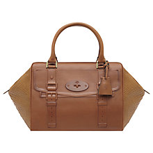 Buy Mulberry Maisie Clipper Leather Snake Print Grab Handbag Online at johnlewis.com