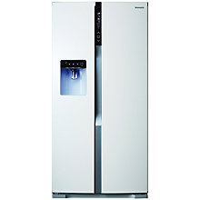 Buy Panasonic NR-B53VW1 American Style Fridge Freezer, White Online at johnlewis.com