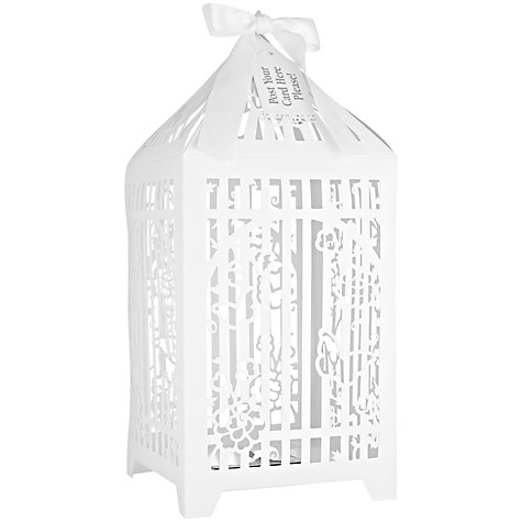Buy Talking Tables Something in the Air Birdcage Post Box Online at johnlewis.com