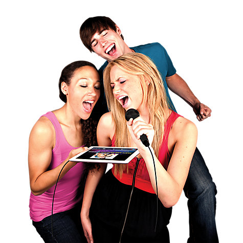 Buy Soulo AM70 Karaoke Microphone for iPhone/iPad/iPod Touch Online at johnlewis.com