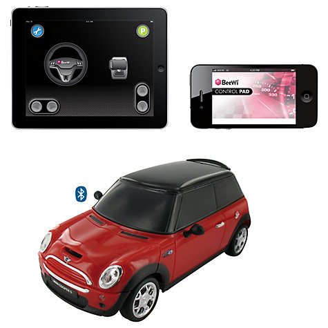 Buy BeeWi Bluetooth Controlled Mini Cooper for iPad/iPhone/iPod Touch Online at johnlewis.com