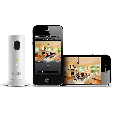 Buy Stem iZon Remote Room Monitor Camera for iPhone/iPad Online at johnlewis.com
