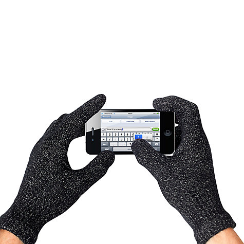 Buy Mujjo Touchscreen Gloves, Size M/L Online at johnlewis.com