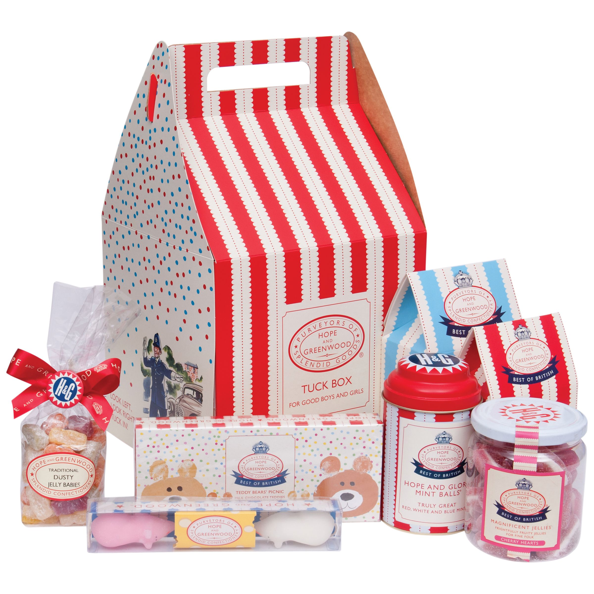 Hope & Greenwood Tuck Box Sweet Hamper