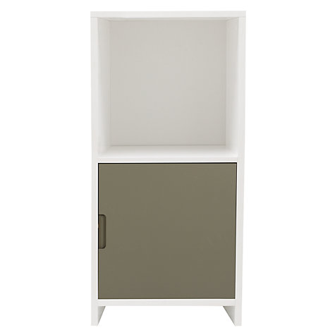 Buy House by John Lewis Oxford 1 x 2 Unit and Cupboard Door Set, White/ Slate Online at johnlewis.com