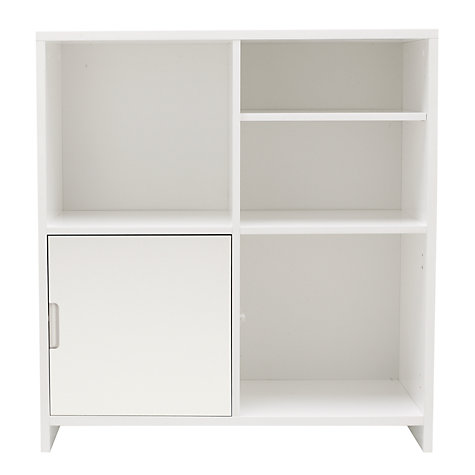 Buy House by John Lewis Oxford 2 x 2 Unit with Shelf and Cupboard Door Set, White Online at johnlewis.com