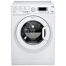 Buy Hotpoint WMUD962P Washing Machine, 9kg Load, A++ Energy Rating, 1600rpm Spin, White Online at johnlewis.com