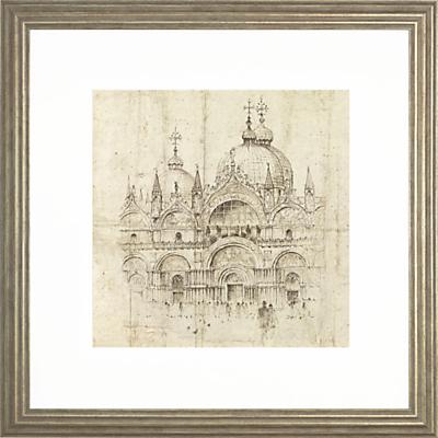 Adelene Fletcher - San Marco Venice, 54 x 54cm