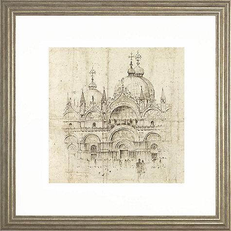 Buy Adelene Fletcher - San Marco Venice, 54 x 54cm Online at johnlewis.com