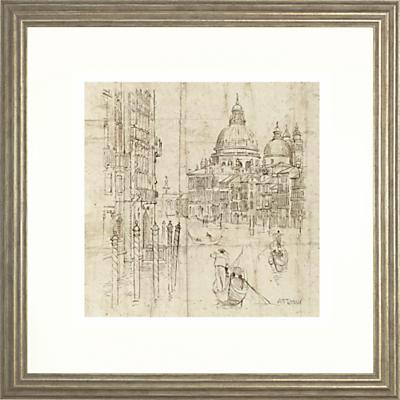 Image of Adelene Fletcher - The Grand Canal Framed Print, 54 x 54cm