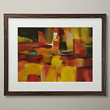 Buy Nancy Ortenstone - Harmonious Space Framed Print, 40 x 50cm Online at johnlewis.com