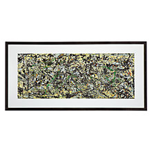 Buy Jackson Pollock - Lucifer Framed Print, 56 x 113cm Online at johnlewis.com