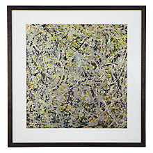 Buy Jackson Pollock Number 4 Framed Print, 70 x 68cm Online at johnlewis.com
