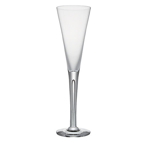 Buy Dartington Crystal Sharon Champagne Flutes, 0.16L, Set of 2 Online at johnlewis.com