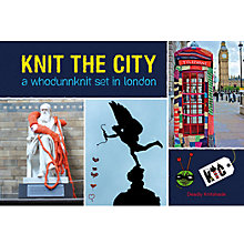 Buy Knit the City: A Whodunnknit Set in London Online at johnlewis.com