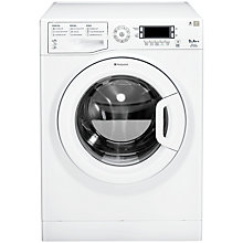 Buy Hotpoint WMUD9627P Washing Machine, 9kg Load, A++ Energy Rating, 1600rpm Spin, White Online at johnlewis.com